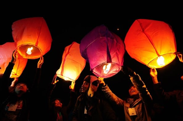 Lampion Dieng Culture Festival