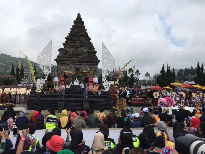 dieng culture festival 2