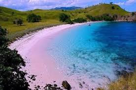 lombok pink beach
