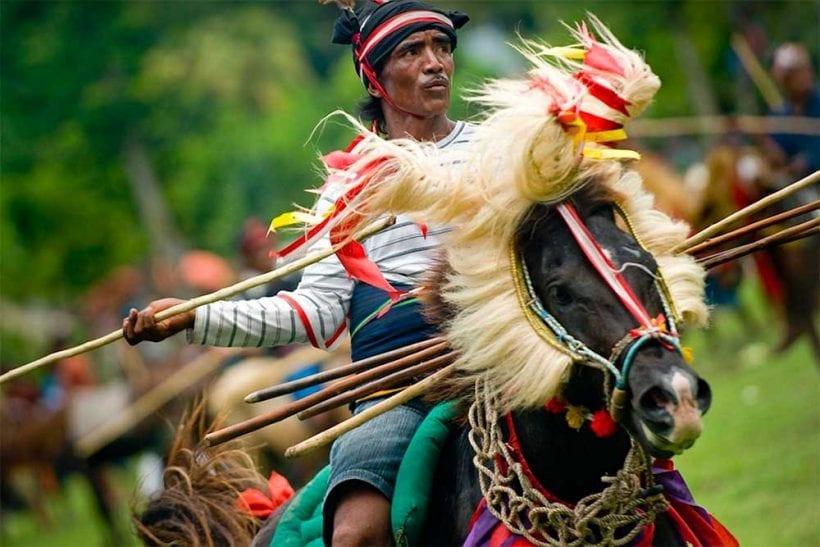 festival pasola Sumba 2019